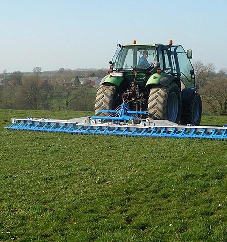 Construction de machines agricoles près de  Charleroi et Mons (Belgique)